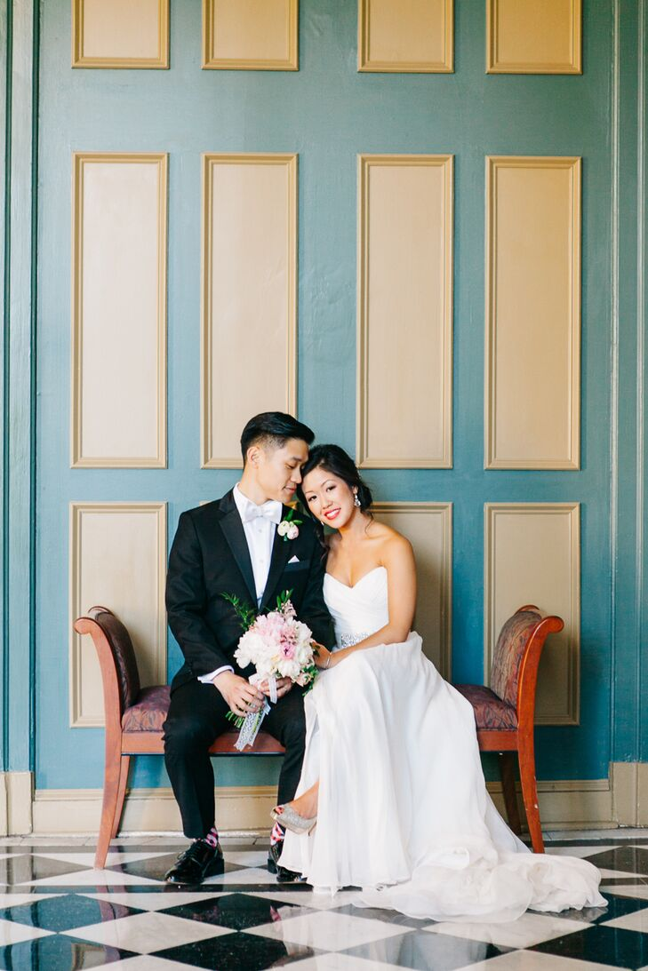 A Romantic Wedding at the George Peabody Library in Baltimore, Maryland