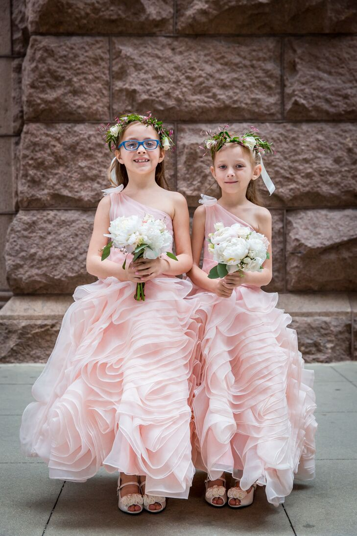 Oversized ruffled skirt flower girl dresses izmirmasajfo