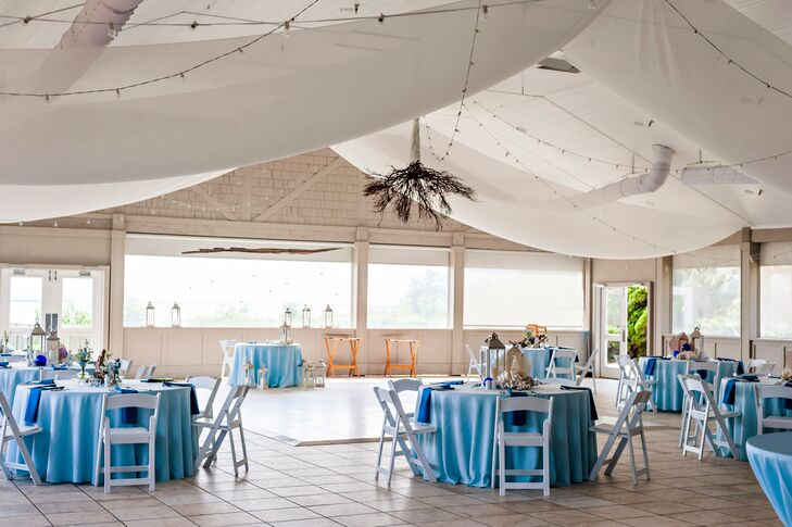 Indoor Pavilion With Private Gazebo Wedding Reception