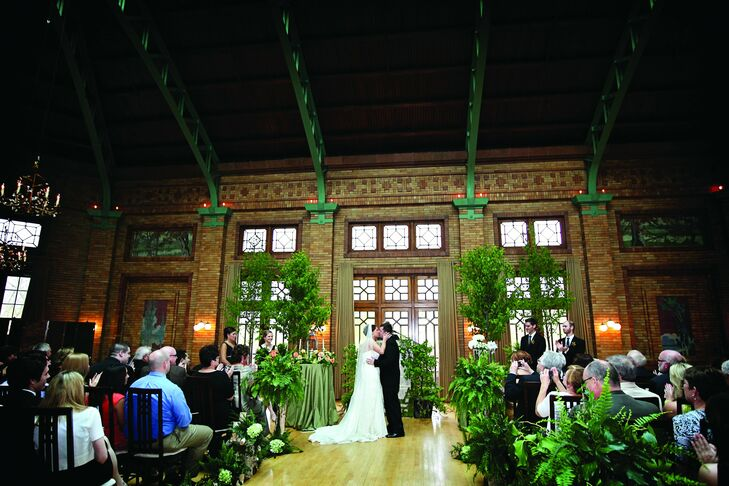 An Indoor Forest Wedding In Chicago, IL