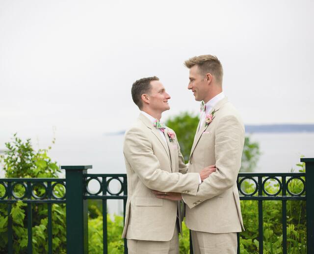 A Perry Hotel Wedding In Petoskey Michigan