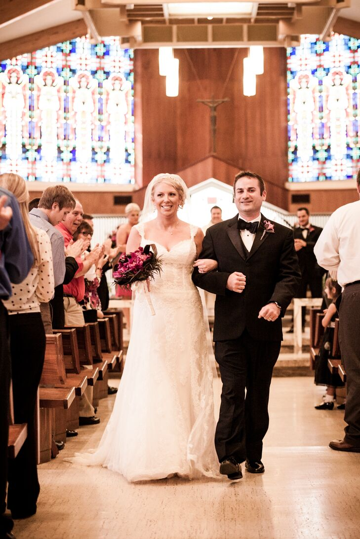 Liz and Nate Recessional