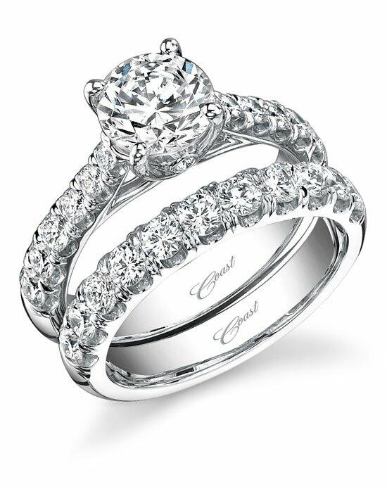 Coast Diamond Traditional Engagement Ring-LZ5001H Engagement Ring photo