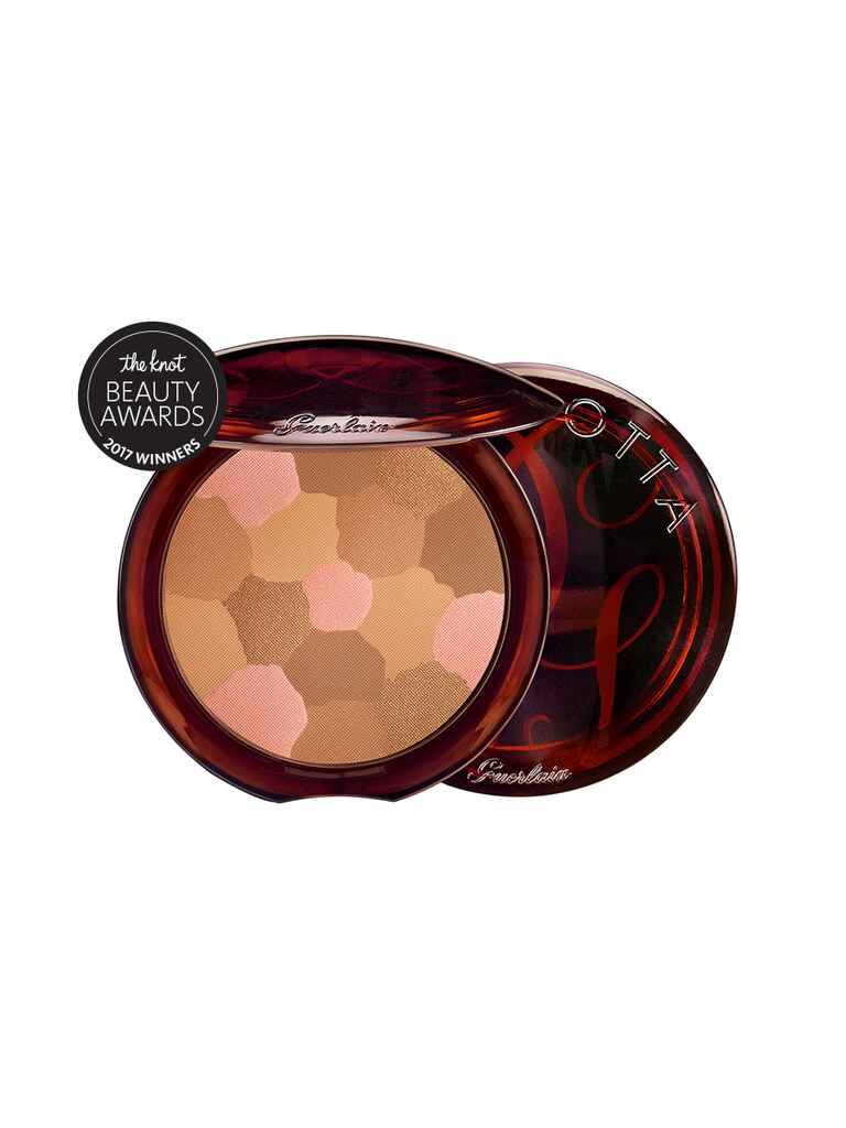 The Knot pick for best bronzer is the Guerlain Terracotta Light Bronzing Powder