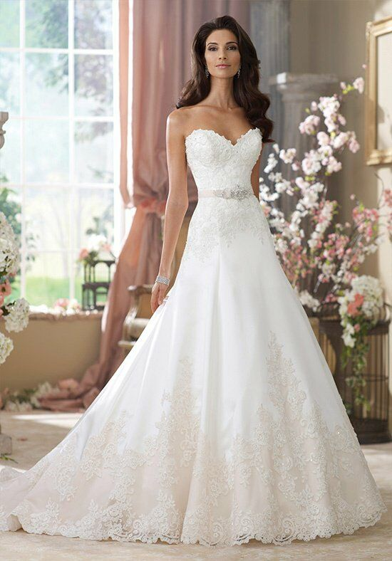 David Tutera for Mon Cheri 214203 Nastia Wedding Dress photo