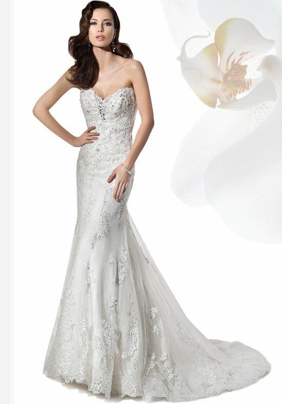 Demetrios 1455 Wedding Dress photo