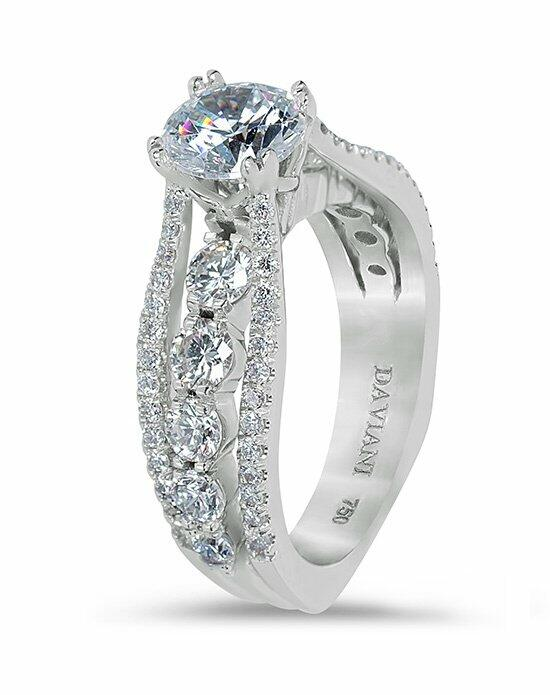 Daviani Love Links Collection DCR1074 Engagement Ring photo