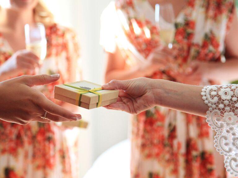 Wearable Bridesmaid Gift Ideas