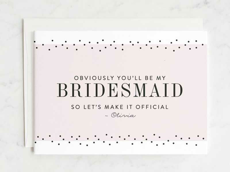 """b54f7d4bd765 Best """"Will You Be My Bridesmaid """" Cards"""