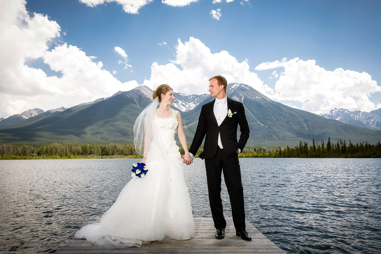 A Romantic Mountain Wedding At Fairmont Banff Springs In