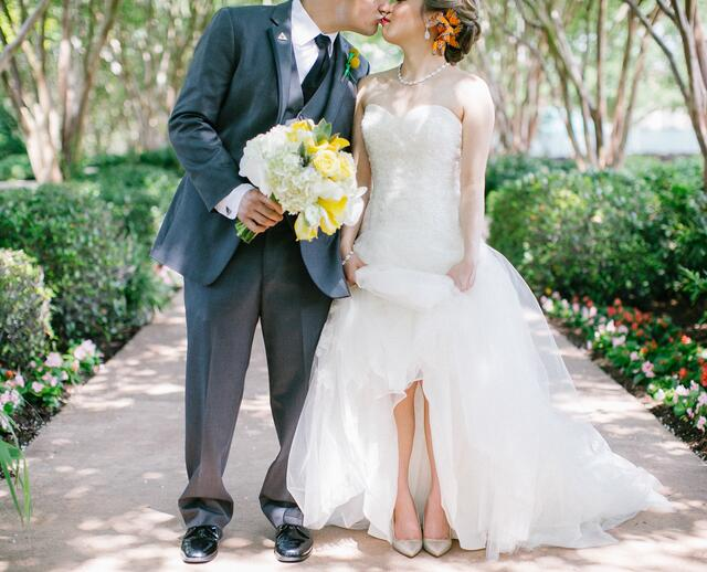 A Whimsical Modern Wedding At Royal Oaks Country Club In Houston Texas