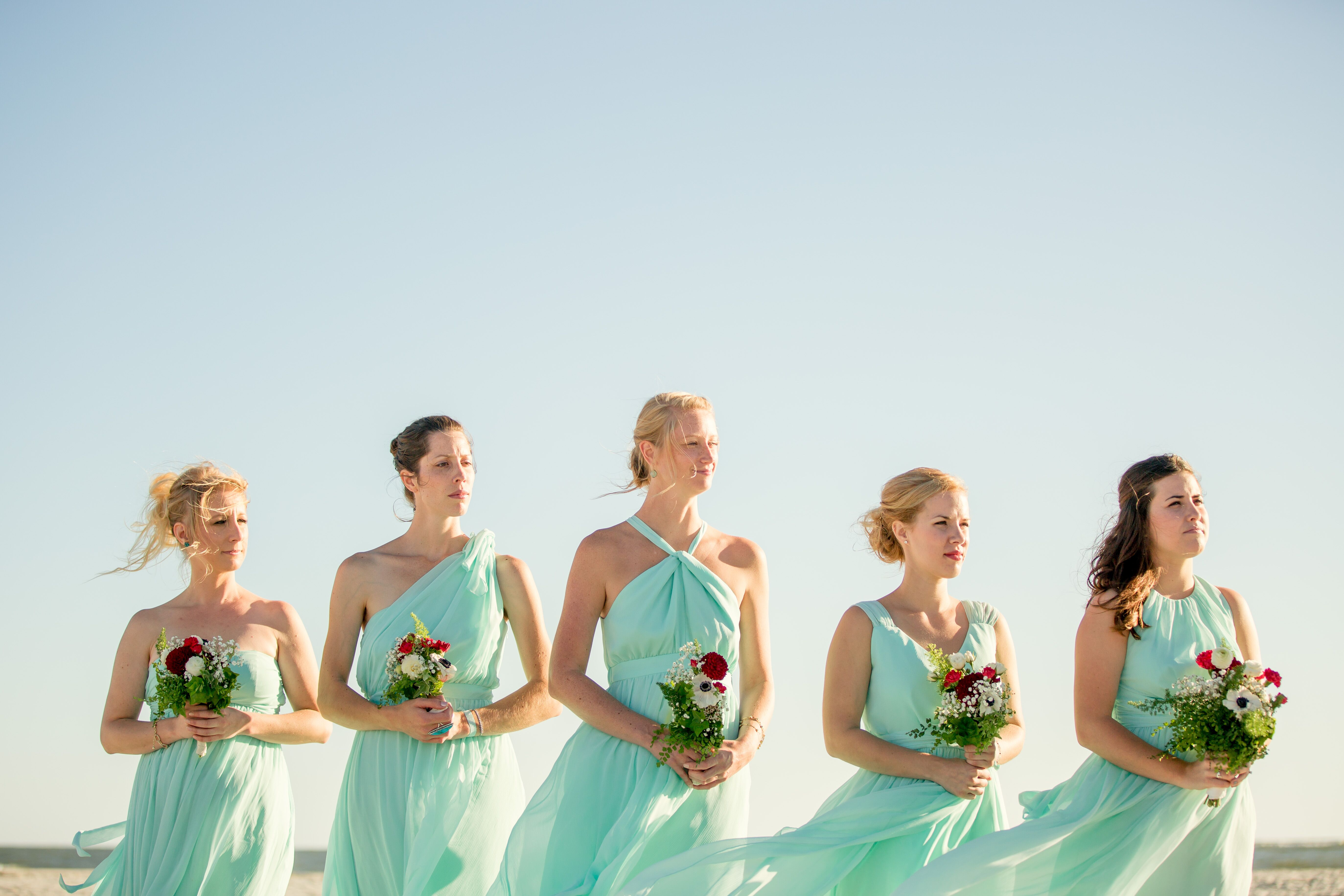 Nautical bridesmaid dresses rented little borrowed dress mint bridesmaid dresses ombrellifo Image collections