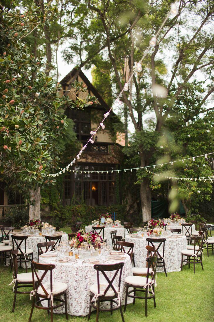 Elegant Backyard Reception