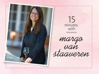 A picture of margo van staaveren at chateau st jean winery