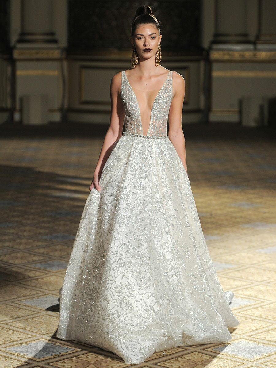 e663fc687c5e Berta Spring Summer 2018 Collection  Bridal Fashion Week Photos