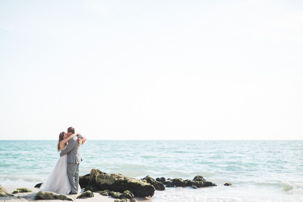 Naples Florida Beach Weddings: A Chic Beach Wedding At Private Residence In Naples, Florida