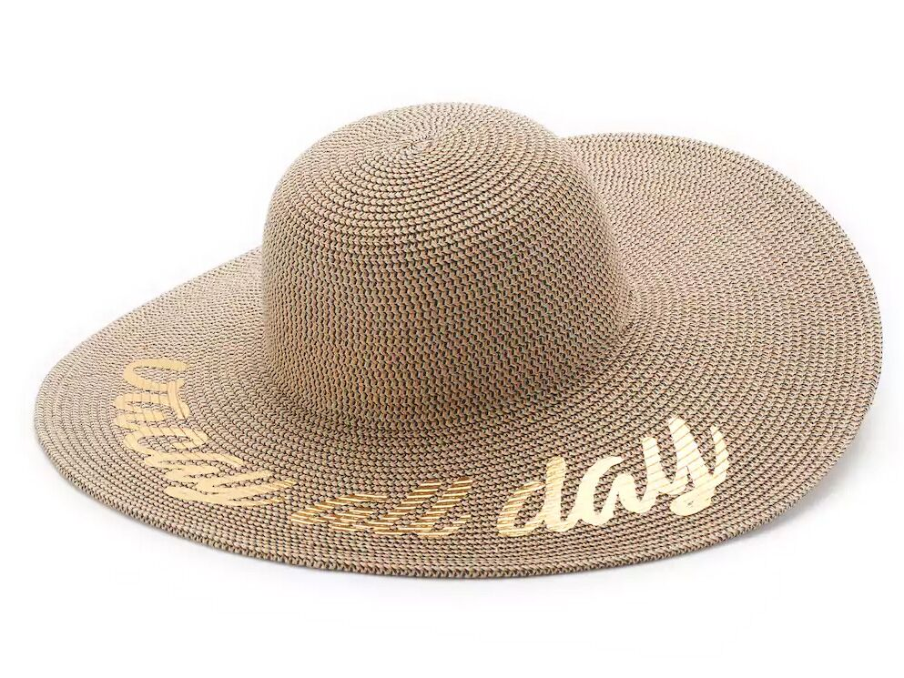 a98f30ee3d82a Floppy Sun Hats With Writing for Honeymoon