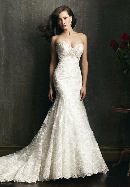Allure Bridals 9051 Wedding Dress photo