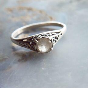 Rustic Engagement Rings