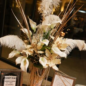 Art Deco Wedding Decorations + Accents