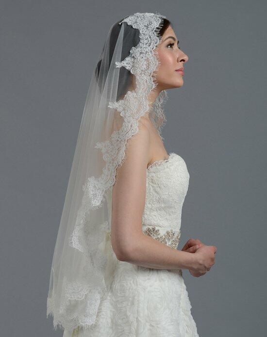 Tulip Bridal Lace Mantilla Veil-V045 Wedding Veils photo