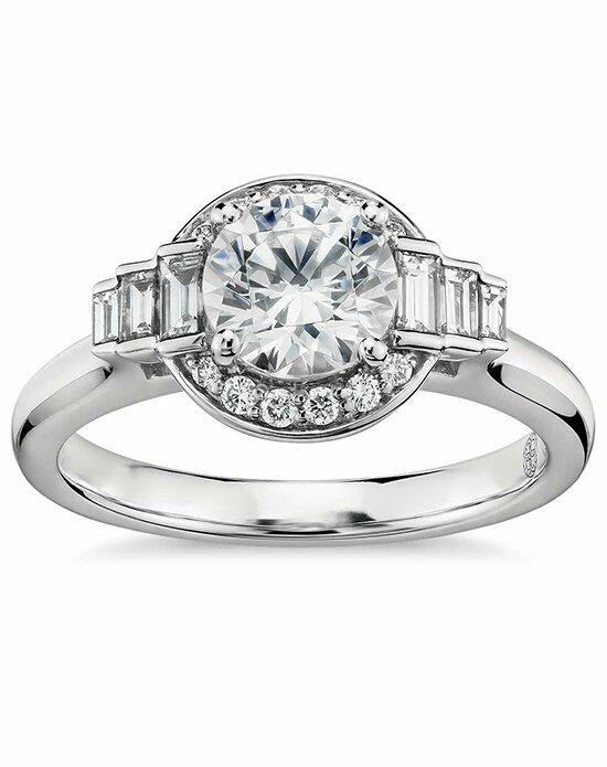 Platinum Engagement and Wedding Ring Must-Haves Colin Cowie for Blue Nile Platinum & Diamond Engagement Ring Engagement Ring photo
