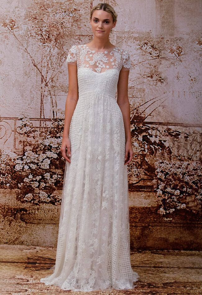 Monique Lhuillier Fall Wedding Dresses
