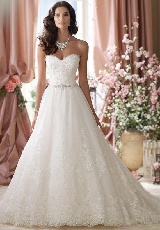 David Tutera for Mon Cheri 114289 Wedding Dress photo