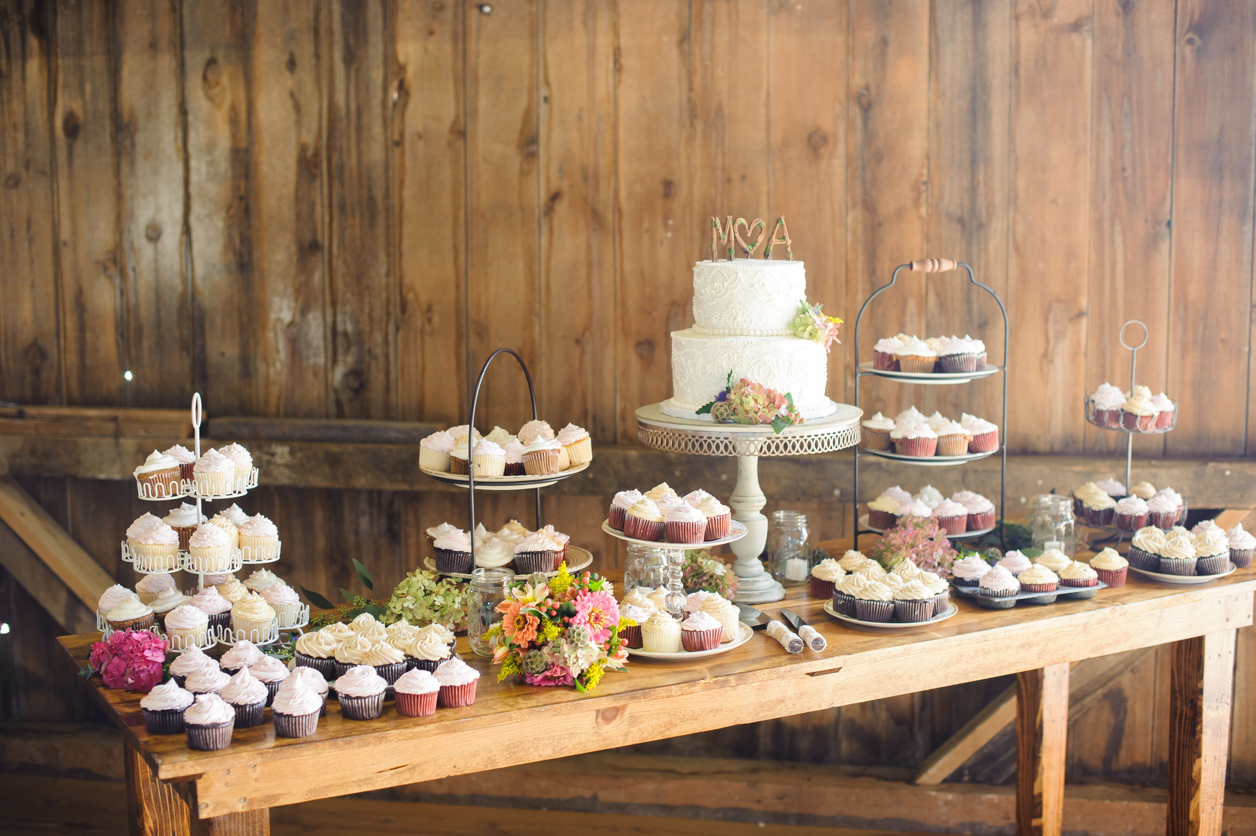 Rustic Wedding Cake Table Ideas Decorations Country Cakes