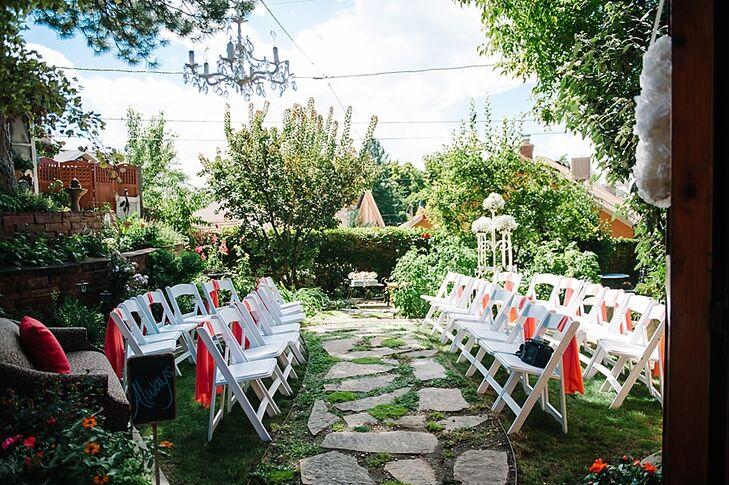 Backyard Secret Garden Wedding Ceremony Venue