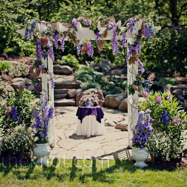 Rustic Outdoor Wedding Ideas: A Rustic Outdoor Wedding In Hartland, MI