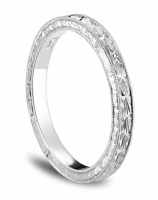 Platinum Engagement and Wedding Ring Must-Haves Blue Nile Hand Engraved Wedding Ring in Platinum Wedding Ring photo