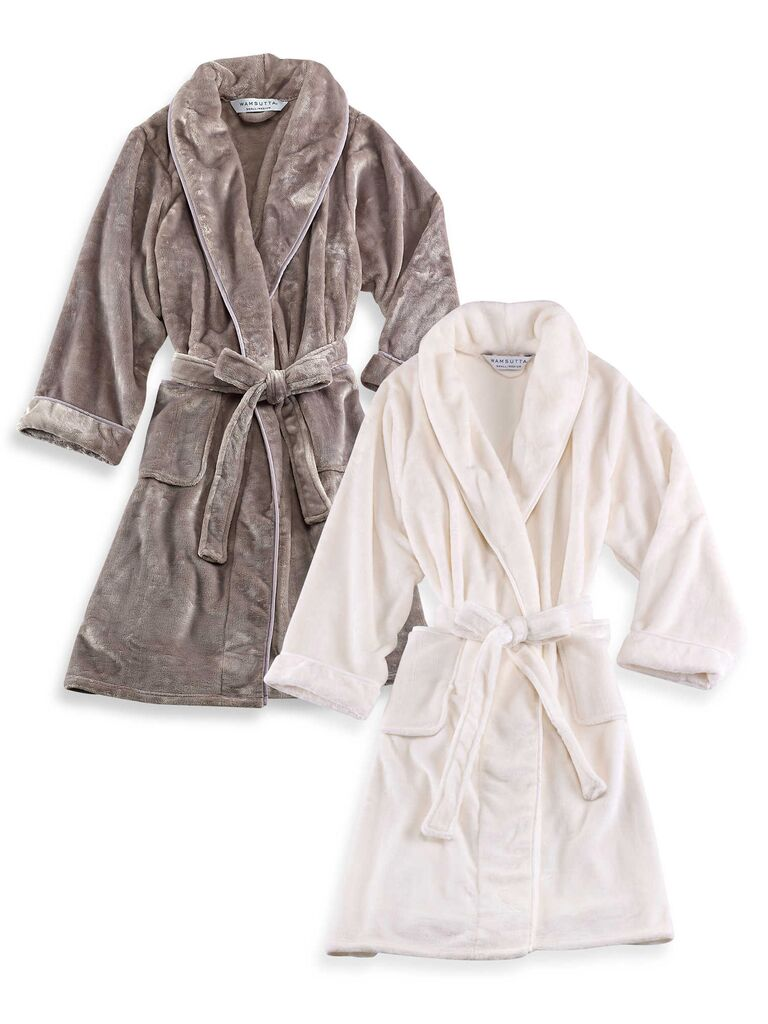 Amazong plush robes registry idea