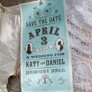 Vintage Save-the-Dates