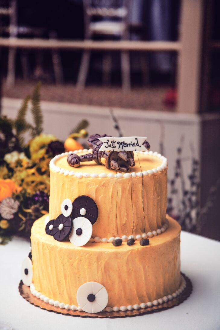Firefly Inspired Wedding Cake