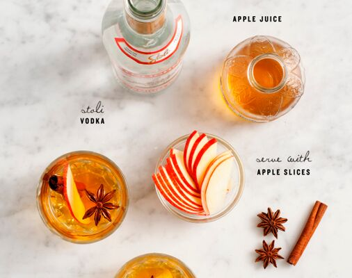 Happy Hour: Apple Spice Cocktail