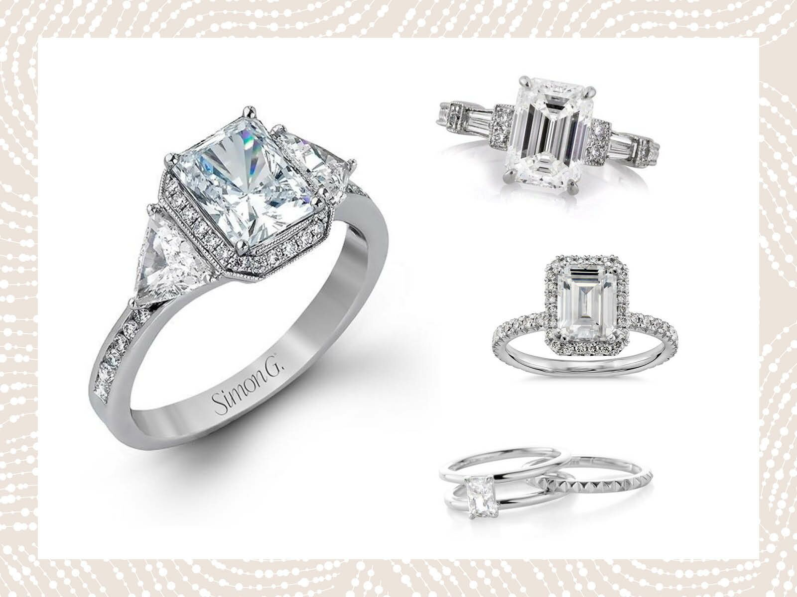 Emerald Cut Engagement Rings You Can Shop Now