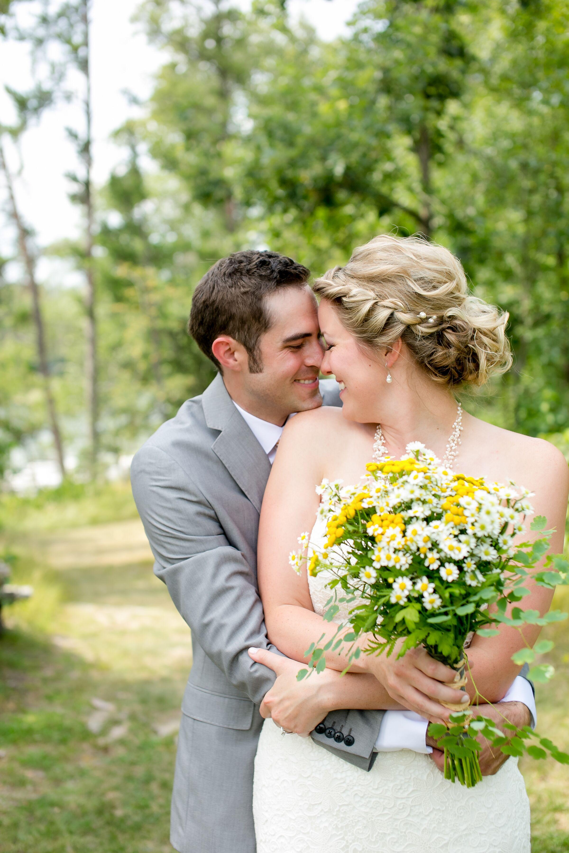 a backyard summer wedding in bemidji minnesota