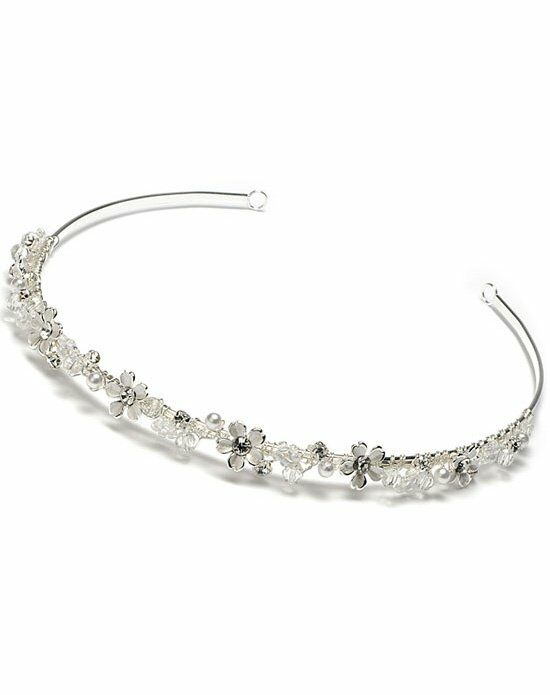 USABride April Pearl Headband TI-137 Wedding Accessory photo
