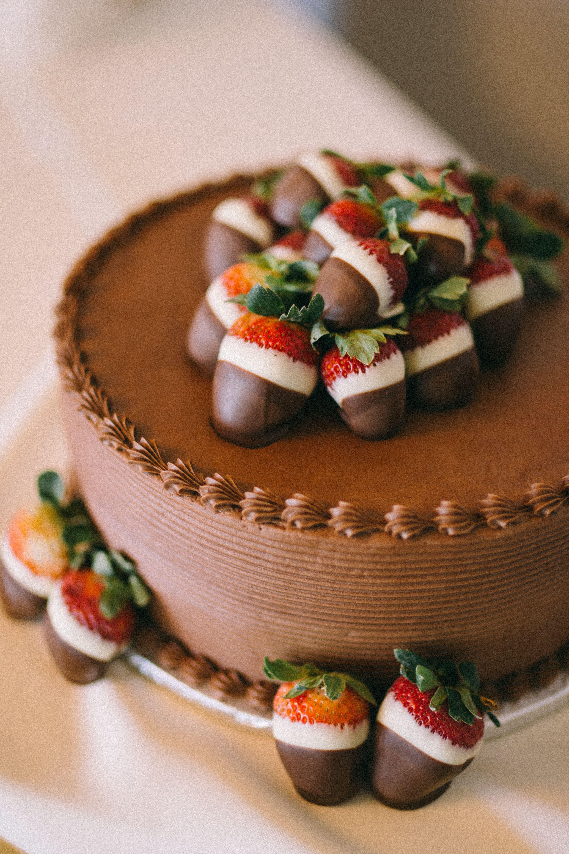 Chocolate Covered Strawberry Groom S Cake