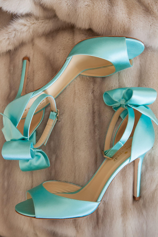 Aqua Blue Kate Spade Heels