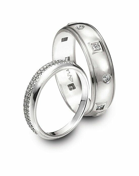 Platinum Must Haves Michael Bondanza Platinum Diamond Wdding Bands Wedding Ring photo