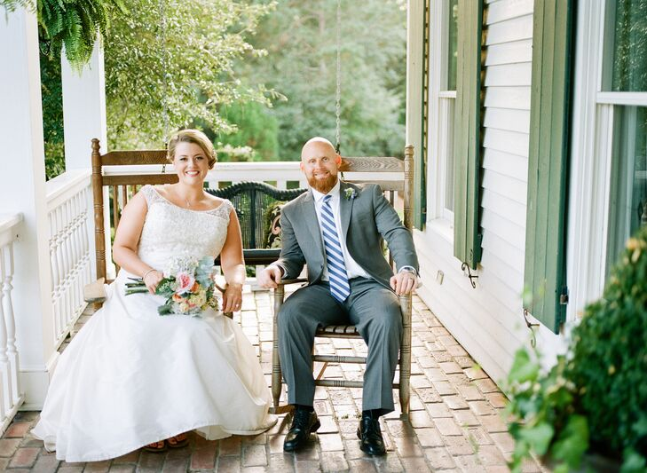 A Charming Southern Wedding At Watson House In Emerald Isle North Carolina