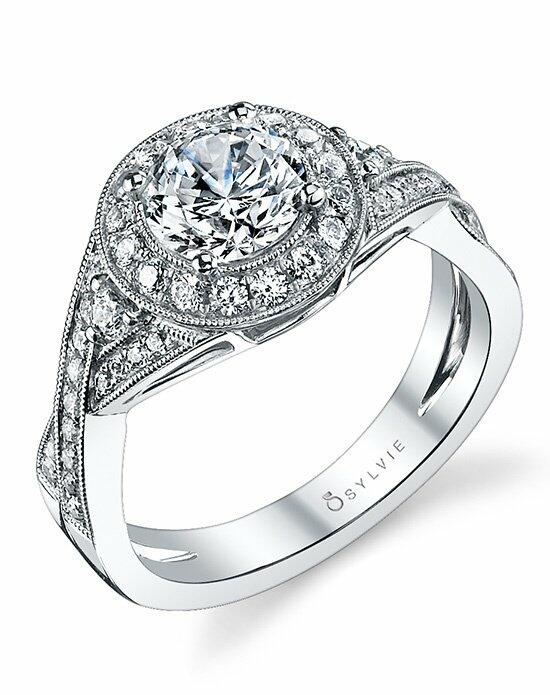 Sylvie Collection S1110 Engagement Ring photo
