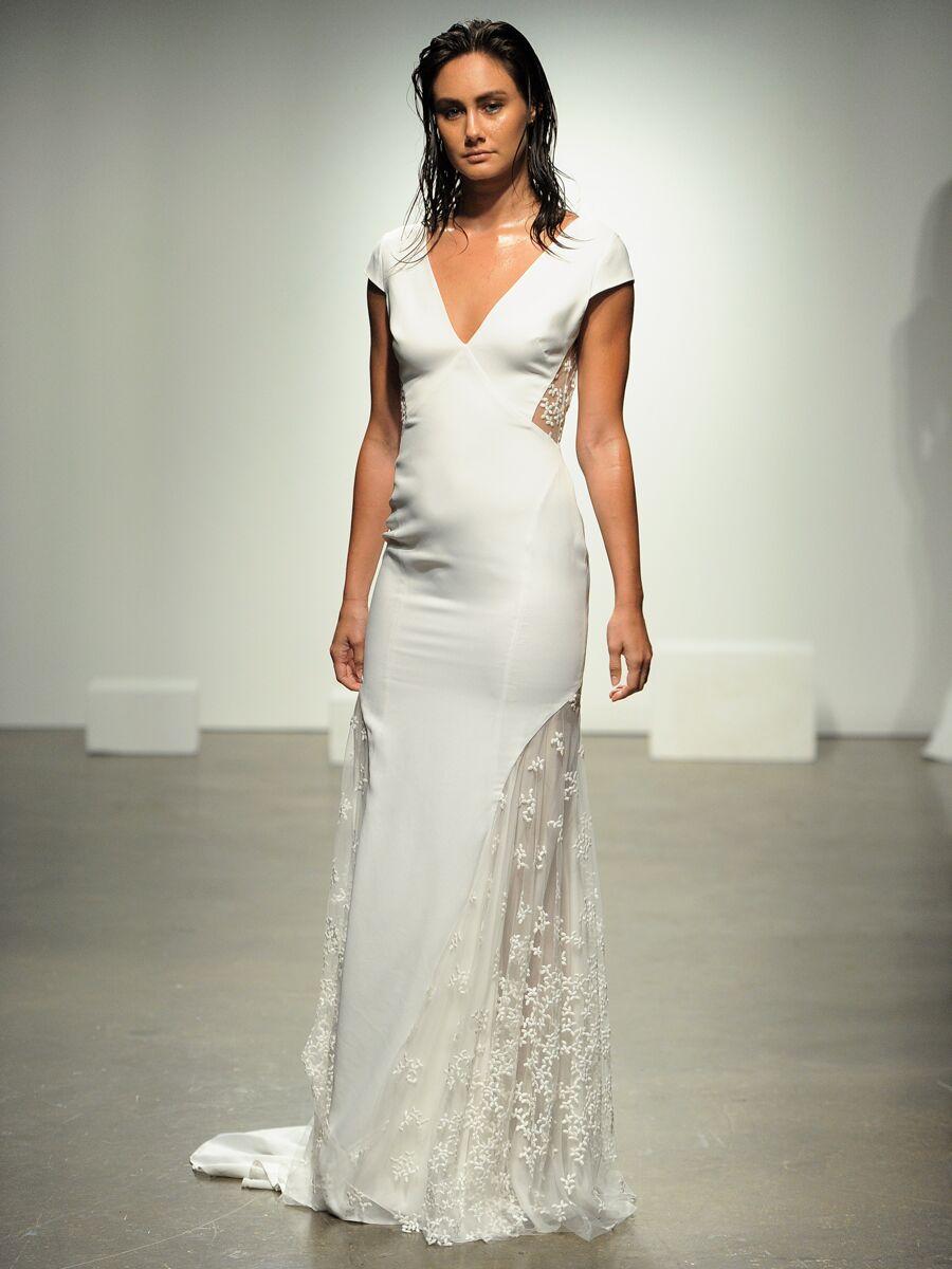 851eb3778cfbf Rime Arodaky Fall 2019 Collection: Bridal Fashion Week Photos