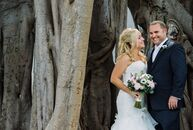 Lona Hall, 31, a professional photographer and owner of Blueye Images Photography, and Bryan Wofsey, 33, general contractor and owner of Barracuda Bui