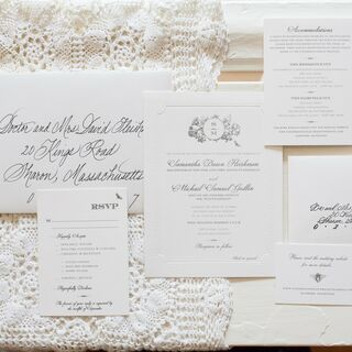 Real Classic Wedding Invitations