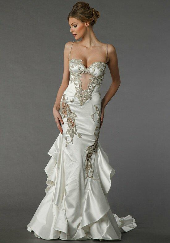 Pnina tornai for kleinfeld 4361 wedding dress the knot for Wedding dresses the knot