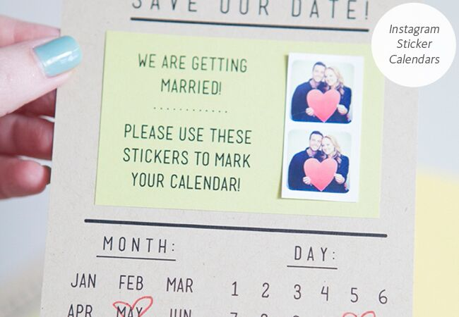 6 diy save the date templates you can easily pull off photo jen carreiro featured the knot blog junglespirit Gallery