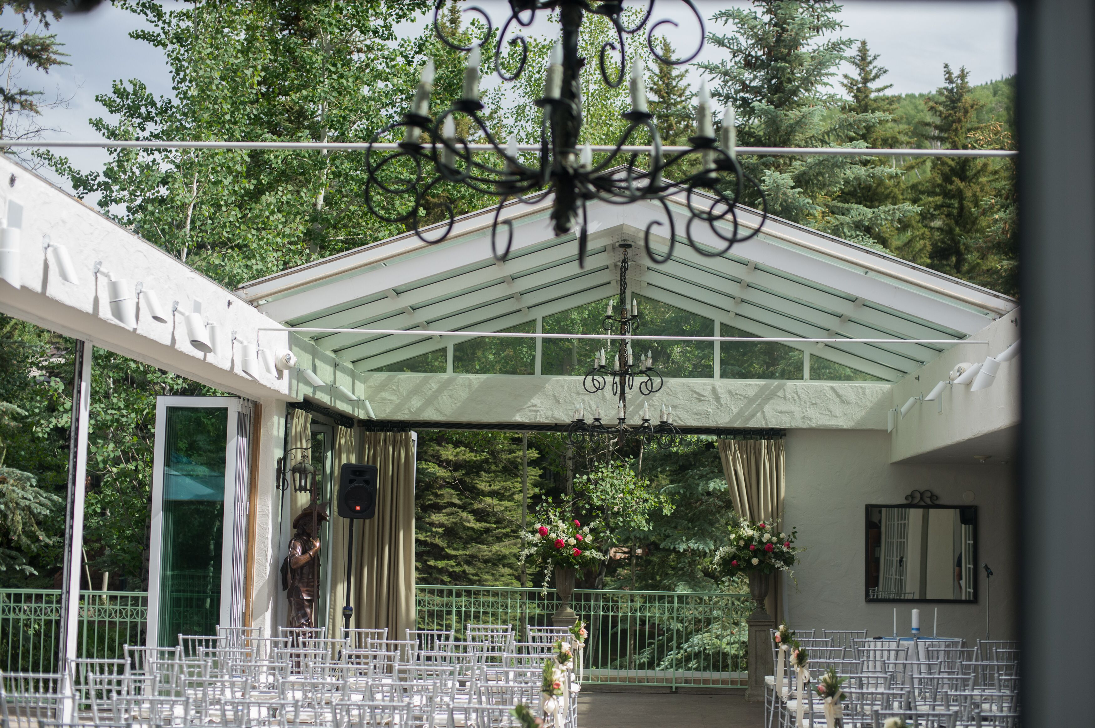 sonnenalp hotel ceremony venue